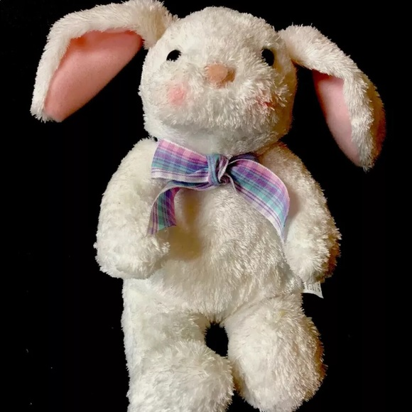 Hallmark Cards Easter White Bunny Rabbit